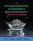 Environmental Economics and Management 6th Edition
