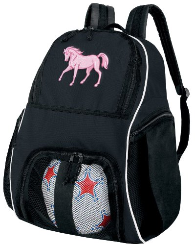 Horse Soccer Backpack or Horse Theme Volleyball Bag
