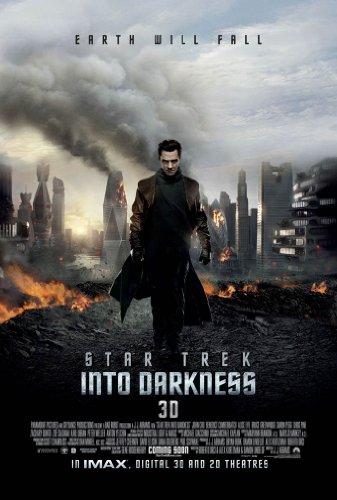 Star Trek Into Darkness Movie Poster 2 Sided Original Ver C Chris Pine
