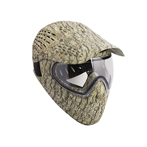 ALEKO PBFCCM57GR Full Head Paintball Mask Full Coverage Protection Gear With Anti Fog Lens, Desert Camouflage by ALEKO