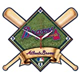 MLB Atlanta Braves High Definition Clock