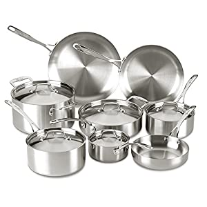 Best Stainless Steel Cookware Without Aluminum (Reviews of 2020) 4