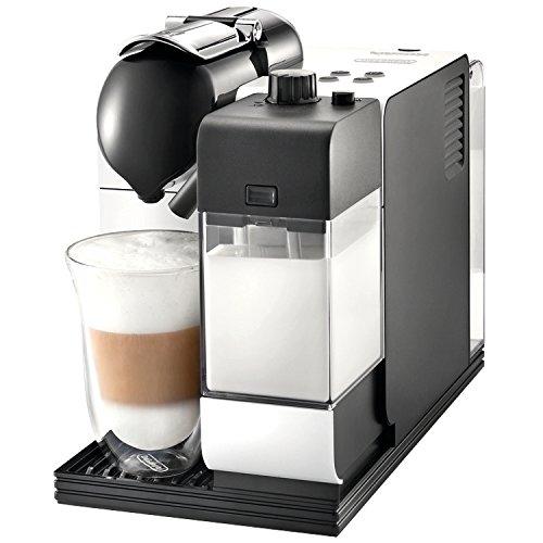 Nespresso Lattissima Plus Original Espresso Machine with Milk Frother by De'Longhi, White