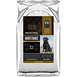 SportDogFood Maintenance Dog Food, Beef Formula, 30-Pound