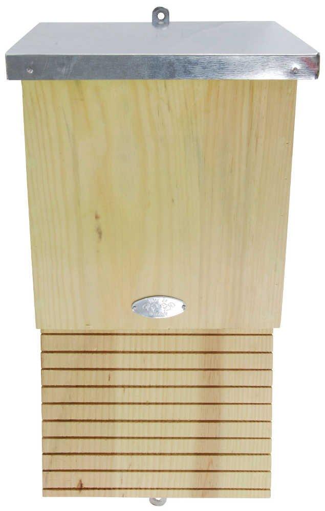 Nichoir en bois et métal pour chauve-souris 16x19x39cm Esschert Design