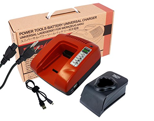 10.8Volts Li-ion Battery Charger Replacement for Makita DC10WA (Red)