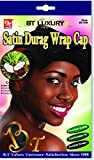 Product review for Beauty Town Satin Durag Wrap Cap - Coconut Oil Treated - Black