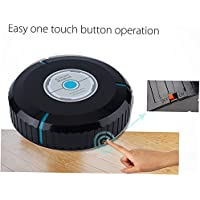 hongfei Auto Vacuum Cleaner Robot,Microfiber Robotic Mop Sweeper for Floor Carpet Hardwood Dust Cleaning -Filter Pet Hair Allergies Friendly for Mother's Day Gifts