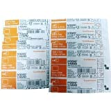 Smith & Nephew IV3000 1-Hand Transparent Dressings 2-3/8'x2-3/4', Pack of 10 Dressings