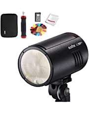 Godox AD100Pro AD100 Pro Monolight, 100Ws 2.4G Flash Strobe, 1/8000 HSS, 0.01-1.5s Recycling, 360 Full Power Flashes, 2600mAh Battery, Suppory TTL/M/Multi Functions, Lightweight Compact, OLED Panel