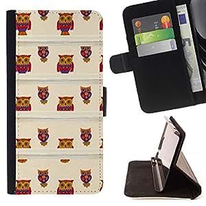 Momo Phone Case / Flip Funda de Cuero Case Cover - Profesor de Brown School Teach lindo - Sony Xperia M2