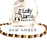 Adult Raw Baroque Baltic Amber Necklace - All Natural Pain Relief for Adults to Help Migraines, Sinus, Arthritis and More! - Multi-Stone … (18 Inches)