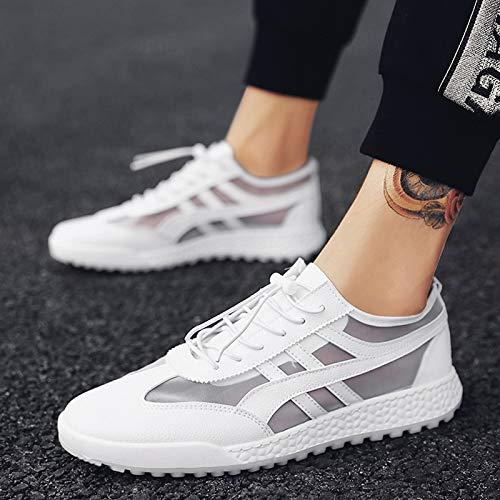 Blanc Hiver Petit Automne Étudiant Courir Nanxieho Sneakers Et Chaussures Tendance Toile tqw4RxAOv