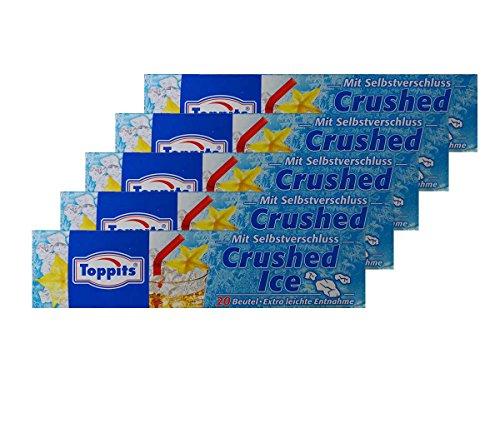 Toppits Eiskugel-Beutel | Crushed-Eis, 5er Pack
