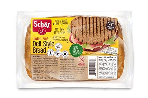 Schar Gluten Free Deli-Style Bread, 8.5 Oz Pack. Gluten Free Sourdough Bread, Gluten Free Sandwich Bread, 5 PACKS PER - 5 Bread