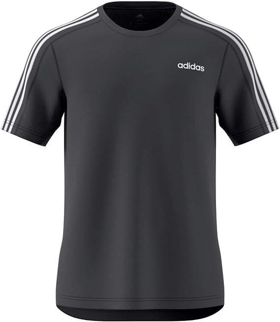 adidas D2m tee 3s Camiseta de Manga Corta Hombre