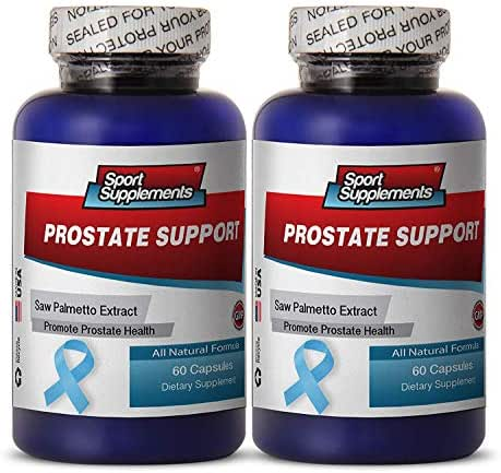 prostate and sexual health - Prostate Support - Testosterone and libido booster Prostate support supplement (2 bottles 120 capsules)