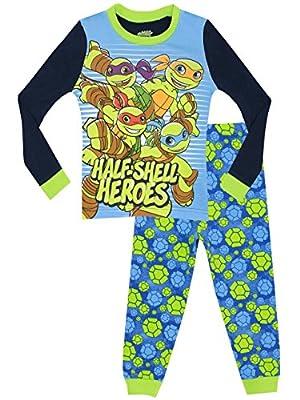 Teenage Mutant Ninja Turtles Boys' Half Shell Heroes Pajamas
