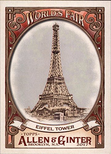 2017 Topps Allen and Ginter World's Fair #WF6 Eiffel Tower Exposition Universelle