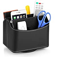 EasyAcc Media Storage Remote Controller Holder Storage Container Rack Coffee Table 5 Compartments