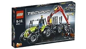 LEGO Technic 8049 - Tractor con remolque para troncos [versión en inglés]