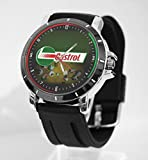 Castrol logo Custom Watch Fit Your Bike