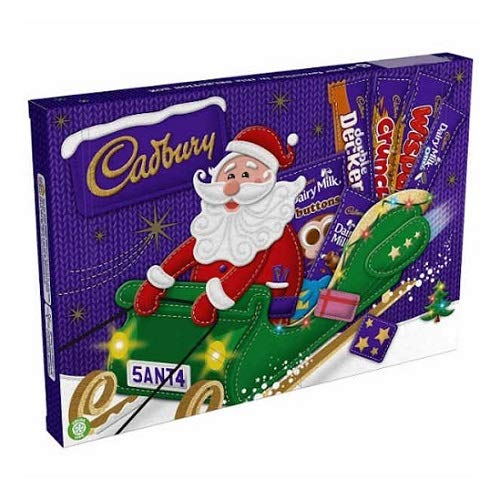 Cadbury Medium Santa Chocolate Selection Box 169g (Cadbury Best Selling Chocolate)