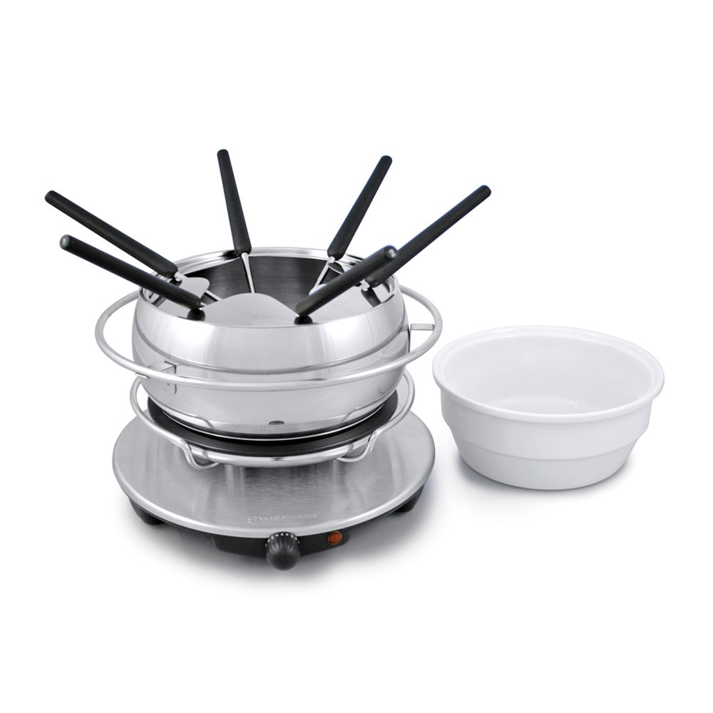 Swissmar FE1003 Zurich 3-in-1 Electric Fondue Set by Swissmar (Image #1)