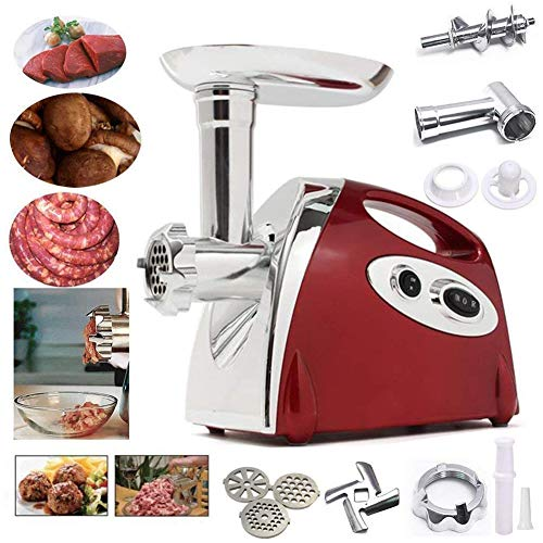 Ammiy Electric Meat Mincer Grinder and Sausage Maker,Powerful 2800 Watt...