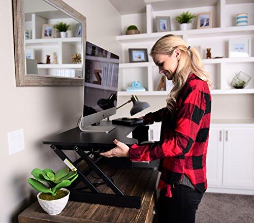 Best Adjustable Standing Desk Riser Gas Spring Converter