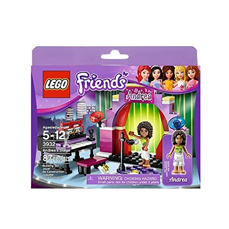 Amazoncom Lego Friends Andreas Stage 3932 Toys Games