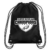Philadelphia Eagles Super Bowl LII Champions Drawstring Backpack