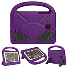Galaxy Tab 3 Lite 7.0 Case, Tab E Lite 7.0 Case - CROMI ShockProof Kids Case Protection Cover Handle Stand Case for Samsung Galaxy Tab 3 Lite 7.0 SM-T110 (2014) / Tab E Lite 7-Inch Tablet SM-T113 (2016), Purple