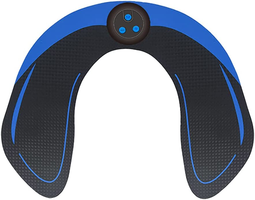 Firwood Estimulador de ABS, tóner Muscular, Cinta Estimulante de ABS, Dispositivo de Entrenamiento con tóneres Abdominales para músculos - USB Recargable inalámbrico portátil