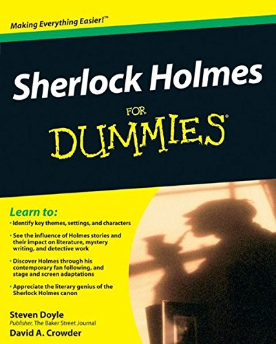 com sherlock holmes for dummies steven com sherlock holmes for dummies 9780470484449 steven doyle david a crowder books
