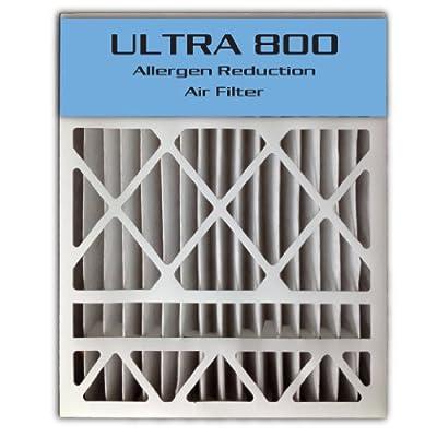 """16x25x4/16x25x5 (15.8""""x24.8""""x4.3"""") ULTRA 800 MERV 8 Carrier Replacement Air Filter (2-Pack): Home Improvement"""
