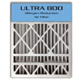 20x25x4/20x25x5 (19.8''x24.8''x4.3'') ULTRA 800 MERV 8 Bryant Replacement Air Filter (2-Pack)