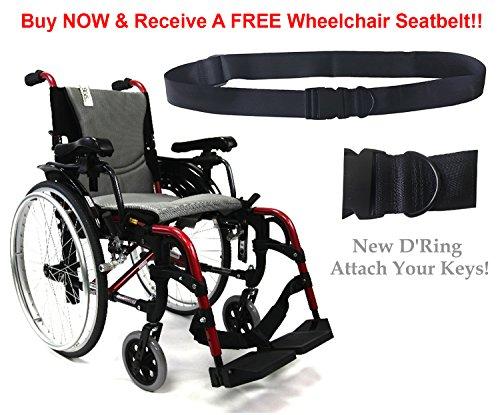 Karman S-ERGO 305 29 lbs Ultra Lightweight Ergonomic Wheelch