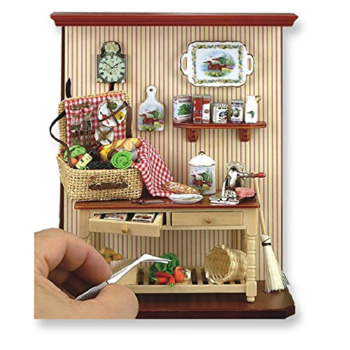 Picnic Time Wall Display by Reutter Porcelain by Dollhouse Miniature