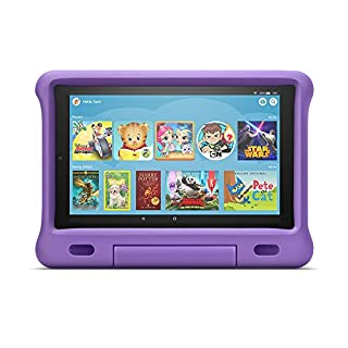 "Fire HD 10 Kids Edition Tablet – 10.1"" 1080p full HD display, 32 GB, Purple Kid-Proof Case"