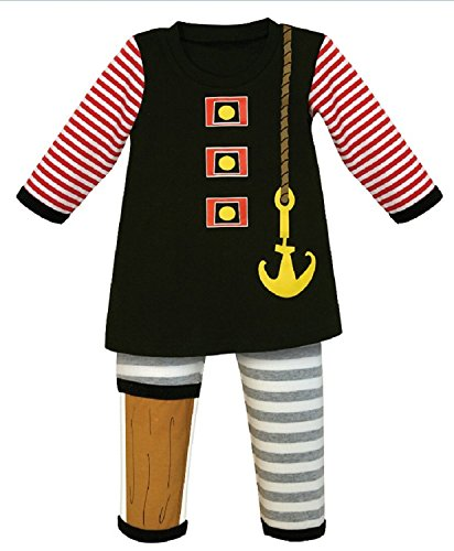 Pirate Outfits For Toddlers (Stephan Baby 2 Piece Boys Pirate Outfit (12-18 Months))
