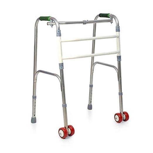 LXYSB Walker Plegable de Altura Ajustable de Ancianos al Aire ...