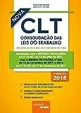 capa de Mini Consolidação das Leis do Trabalho. CLT. 2018