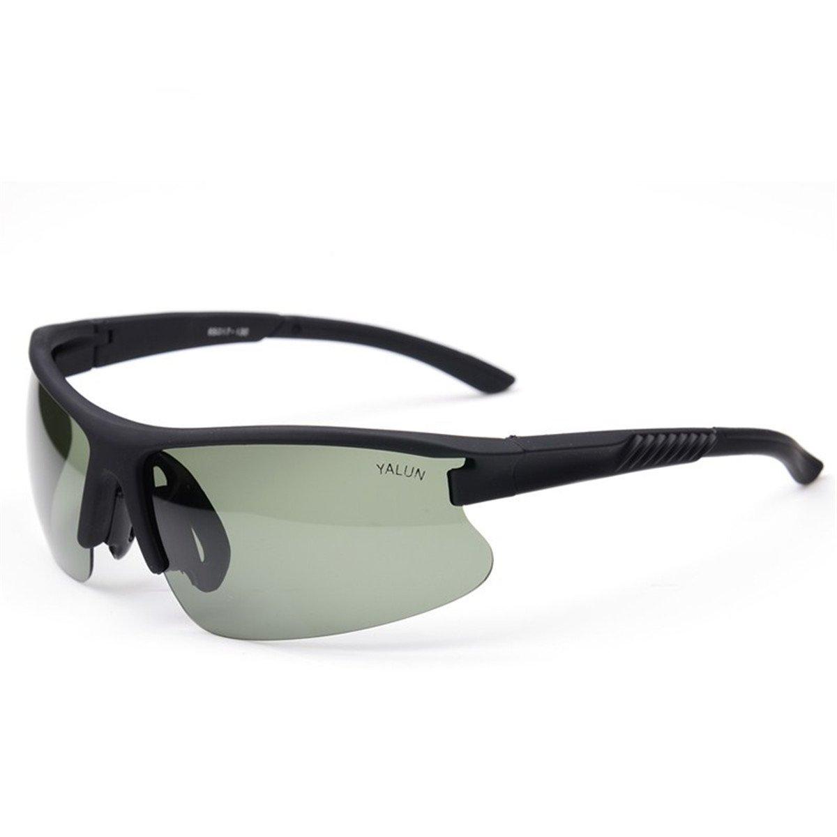KOMNY Montar Hombres Deportes Gafas de Sol, Gafas, Gafas de Sol polarizadas Hombres conduciendo,Té de té Enmarcado: Amazon.es: Hogar