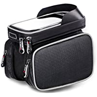MF-HOME Bike Bag for Cell Phone, Bicycle Front Shelf...