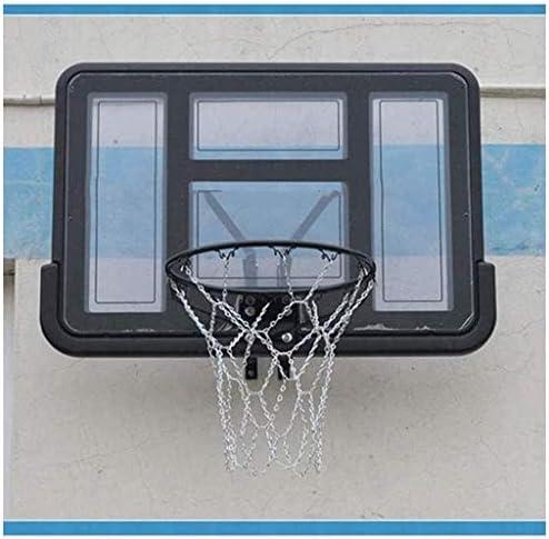 バスケットボールフープ、トレーニング標準リバウンド、屋内の場合、屋外スポーツ射撃屋内バスケットボールフープバスケットボールウォールマウントボードミニバスケットボールフープホーム透明なバックボード、大人と子供の