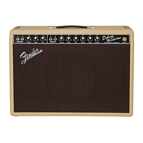 Fender '65 Deluxe Reverb Tan/Oxblood Limited Edition w/Weber (Fender 65 Deluxe Reverb Amp)