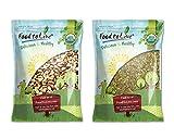 Organic Nuts Bundle with Organic Brazil Nuts, 8 Pounds and Organic Pepitas / Pumpkin Seeds, 8 Pounds — Raw, No Shell