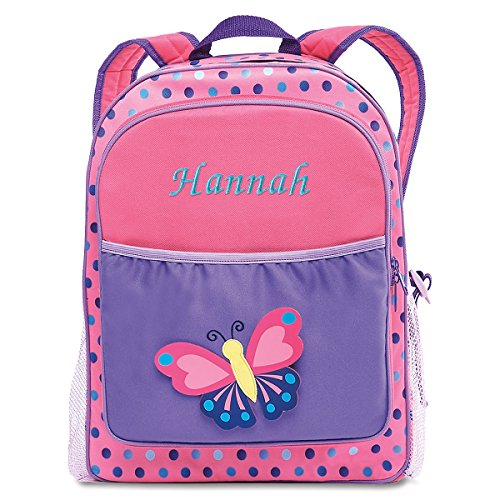 3D Butterfly Kids Personalized Backpack by Lillian ()