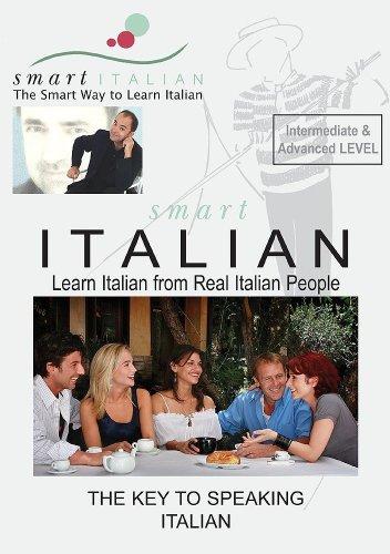 SmartItalian Audio CDs Intermediate/Advanced - Learn Italian as spoken by Real Italian People (English and Italian ()